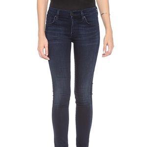 Agolde Colette Skinny Dark Wash Jeans